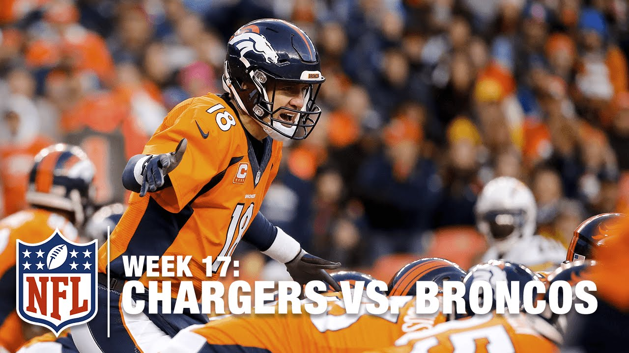 hot sales 9ba0e d05ff Peyton Manning Takes Over, Sparks Denver Offense in 2nd Half!   Chargers  vs. Broncos   NFL