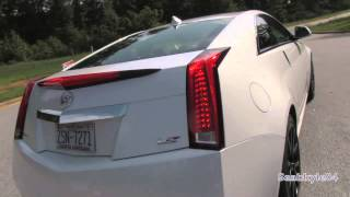 2015 Cadillac CTS V Coupe Start Up, Exhaust, Test Drive, and In Depth Review