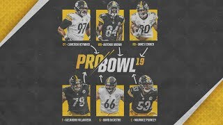 Six Steelers Represent at the 2019 Pro Bowl