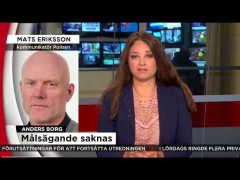 Förundersökningen mot Anders Borg har lagts ner - Nyheterna (TV4)