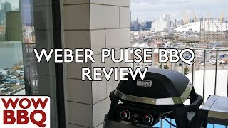 Weber Pulse Electric BBQ Review English