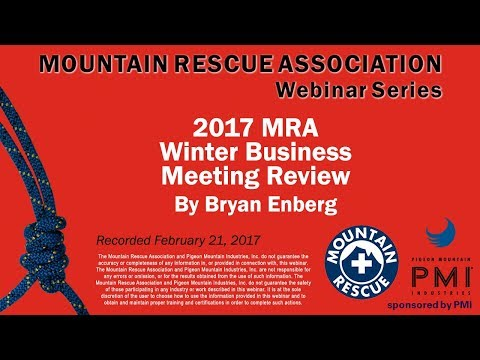 MRA Webinar Series – 2017 Winter Business Meeting Review