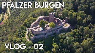 Drei Burgen-Tour in der Pfalz - Mittelgebirgsurlaub 2017