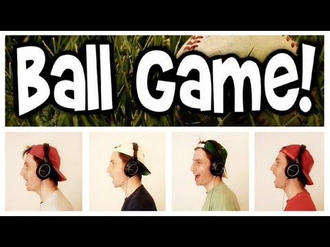 Take Me Out To The Ball Game - A Cappella Baseball Song - Barbershop Quartet