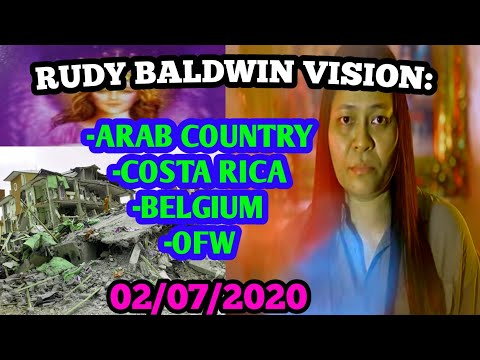 SAUDI ARABIA, BELGIUM AT COSTA RICA | RUDY BALDWIN VISION & PREDICTIONS 2/7/2020
