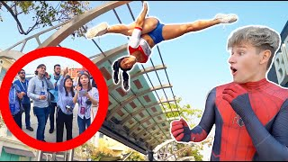 EXTREME DARES In PUBLIC With Famous Youtubers!
