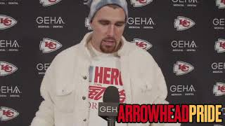 Travis Kelce questions Browns' Mack Wilson's hit on Chiefs' Patrick Mahomes
