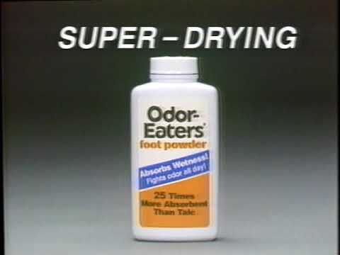 Odor-Eaters Foot Powder Commercial – 1993