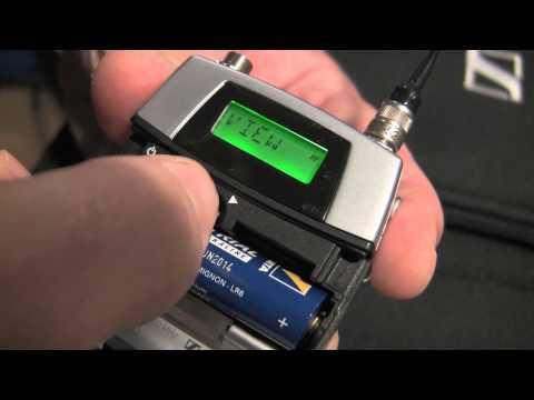 Sennheiser radiomicrofi wireless Serie 3000 Exhibo EM 3732, SK 5212 II, SKM 5200 II, SKP 3000