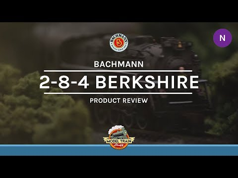 N Scale Bachmann Sound Value 2-8-4 Berkshire