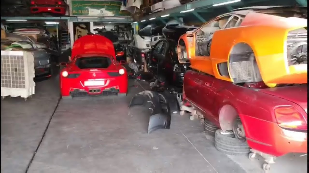Buy Crashed Supercars For Cheap In Dubai Destroyed And Cheap Youtube