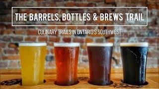 CRAFT BREWERIES & DISTILLERIES in WINDSOR ESSEX    Culinary Trails in Ontario's Southwest