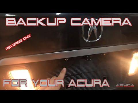 2004 05 06 07 2008 Acura TL Backup Camera Install – DIY Reverse Only Installation