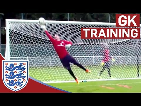 Triple shot stop & diving saves - Hart, Forster & Heaton (Euro 2016) | Inside Training