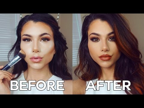 How to Contour and Highlight Face! | Easy Makeup Tutorial fo