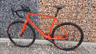Ghost Violent Road Rage 7 8 LC Cyclocross Bike 2018 rot