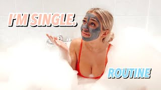 My SINGLE on Valentines Day Routine ft. LOUNGE Valentines Day Haul!! ad