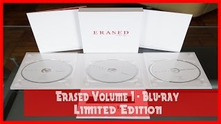 Anime Unboxing | Erased Volume 1 - Limited Edition (Blu-ray) 2016