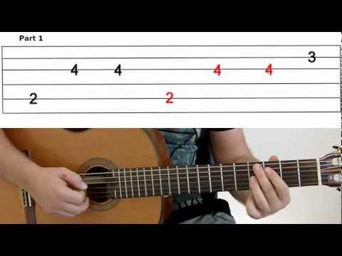 Guitar Lesson 10A -Gangnam Style- Part 1