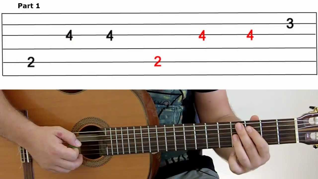 Guitar Lesson 10A -Gangnam Style- Part 1 - YouTube