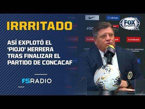 """'Piojo' Herrera: """"Los torneos de la Concacaf no le sirven para nada a México"""""""
