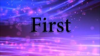 Lauren Daigle   First (lyric Video)