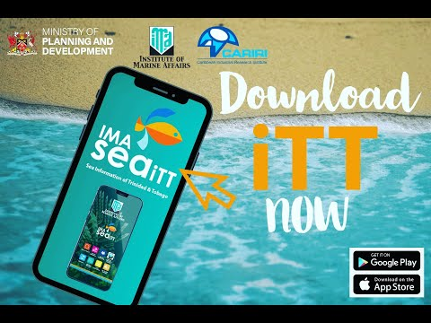 Trinidad & Tobago's first ever marine environmental mobile app - CARIRI & IMA seaiTT Mobile App