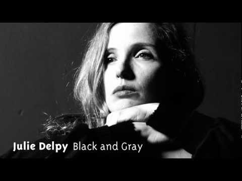 Julie Delpy - Black and Gray