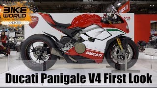 Ducati Panigale V4 First Look At Motorcycle Live