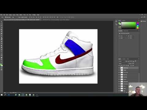 beställa exklusivt sortiment ingen försäljningsskatt Using Photoshop CC To Create A Nike Shoe Design - YouTube