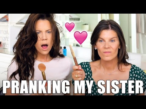 PRANKING MY SISTER with Bad Makeup