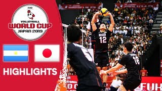 ARGENTINA vs. JAPAN - Highlights | Men's Volleyball World Cup 2019