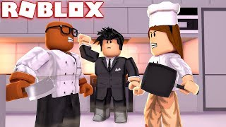 KITCHEN WARS IN ROBLOX (Roblox Kitchen Chaos)