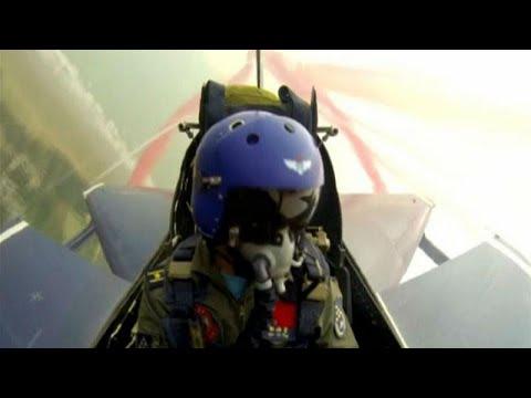 شاهد: المقاتلات الصينية في استعراض جوي  - نشر قبل 15 دقيقة