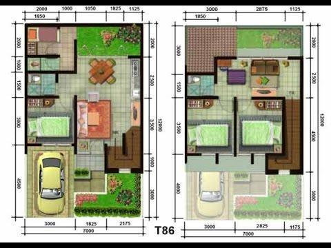 Denah Rumah Minimalis Type 36 72 Denah Rumah Minimalis Type 36