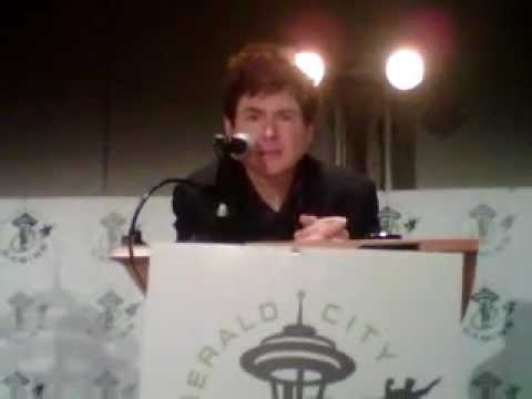 Emerald City Comicon 2013:Quinton Flynn talks about Janice Kawaye & his geeky moment on MLAATR