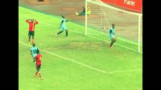 Uganda Cranes wins its AFCON first qualifier against Angola with a 2-0 goal difference.