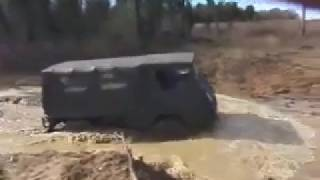 Your car would get stuck in this puddle