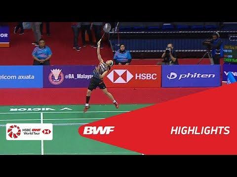 Perodua Malaysia Masters 2018    Badminton WS - QF - Highlights   BWF 2018
