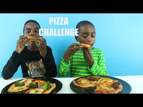 Pizza CHALLENGE | K-Boyz TV