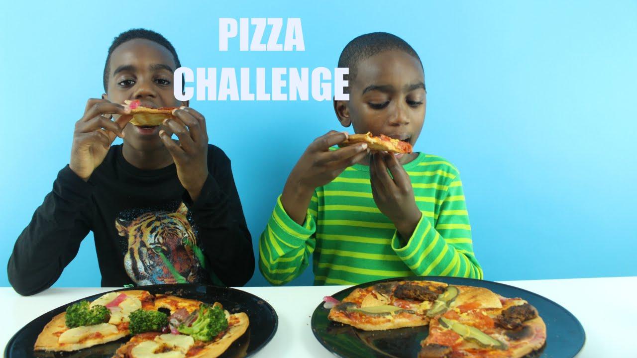 Download Pizza CHALLENGE | K-Boyz TV