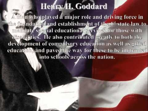 Henry H. Goddard Political Advertisement