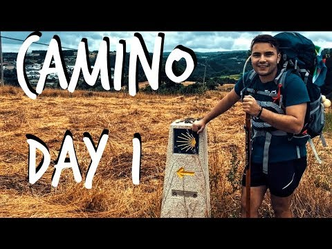 Travelling to Spain || Day 1 of The Camino de Santiago