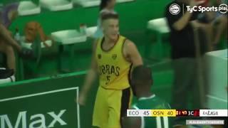Las mejores jugadas de Fer Zurbriggen en Obras Basket