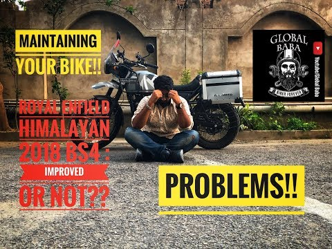 Royal Enfield Himalayan Sleet 2018 HD   ISSUES & PROBLEMS   Should You Buy it??