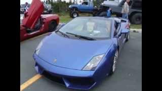 Lamborghini Gallardo revs
