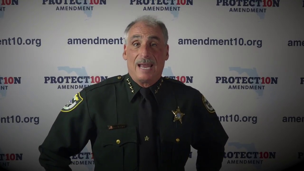 Volusia County Sheriff Mike Chitwood: The Importance of Amendment 10
