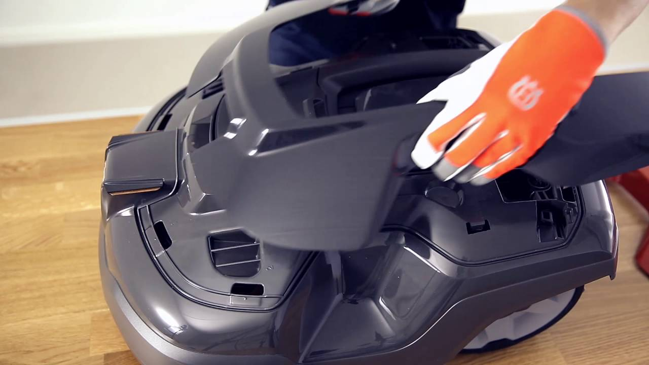 how to install husqvarna automower 310 315 terrain kit. Black Bedroom Furniture Sets. Home Design Ideas