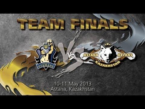 Astana Arlans Kazakhstan - Ukraine Otamans - Team Finals - Day 2 - WSB Season 3