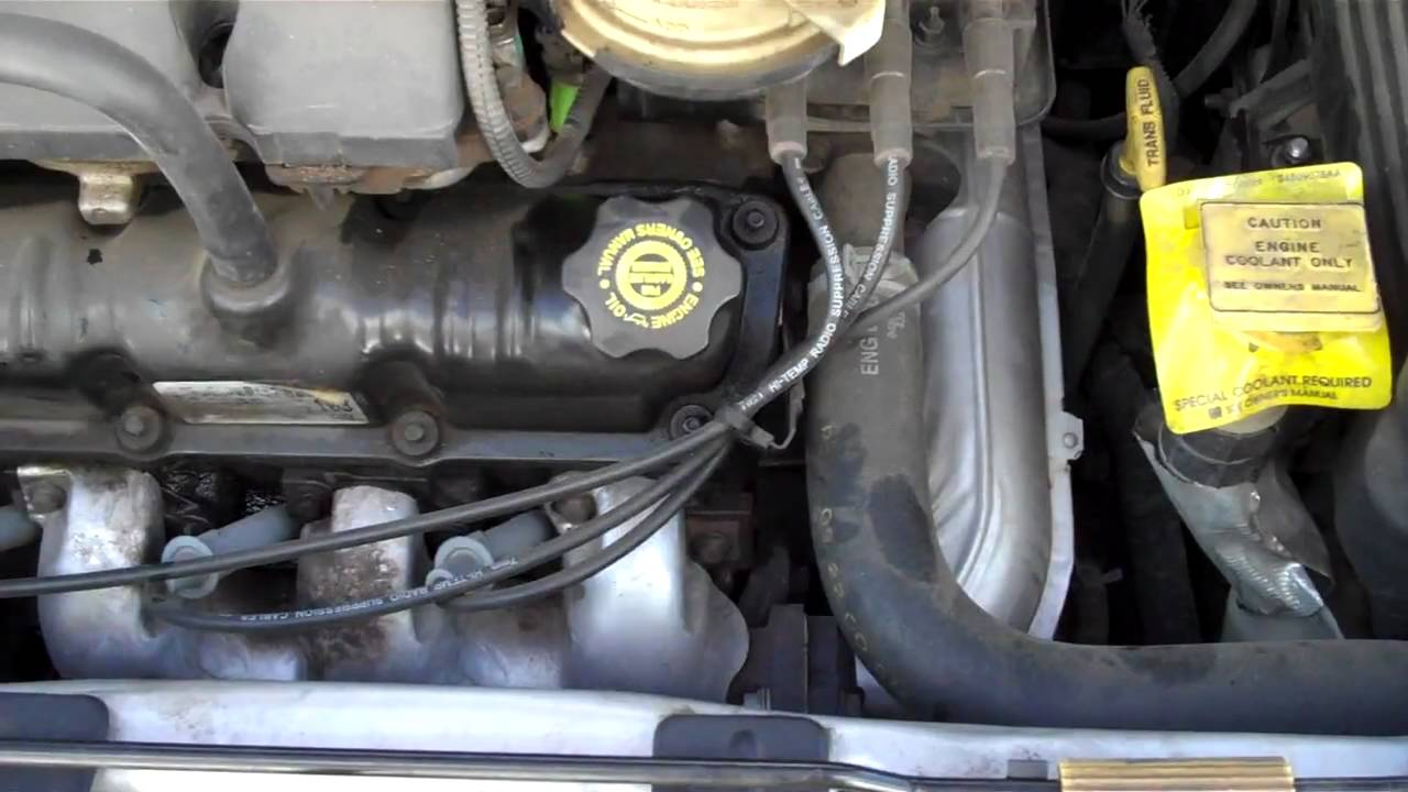 2001 Dodge Caravan Transmission Noise Youtube